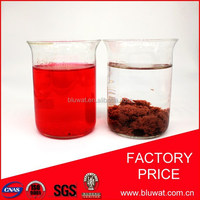 Water Decoloring Agent BWD-01 for Greece Textile Dyeing Effluent Decolorizing