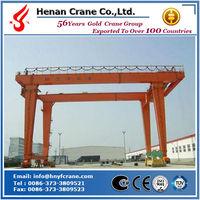 RTG rubber tyre container gantry crane lift boat