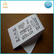 High Quality Double Face Satin Ribbon Garment Care Label For Clothing