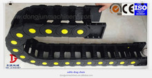 China Industrial Machine cable Drag Chain ,PA66 Plastic Cable Chain