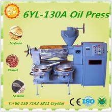 Peanut oil machine diesel engine or electric screw press cold oil press