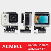 Camsoy F1 sj8000 30m waterproof wifi sport camera with 2 inch screen