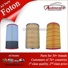 alta qualidade e bom preço foton auman caminhão peças de filtros de ar