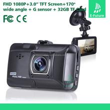 new zinc alloy shell big lens 4 digital zoom full hd 1080p car dvr