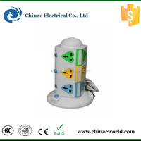 Cheapes tower socket, tower power strip, electrical outlet tower