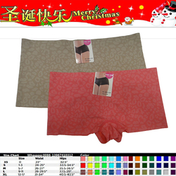 printed seamless women underwear boy short panty