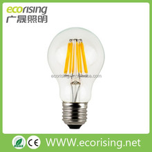 A19 6W 8W sparkling led incandescent bulbs