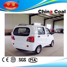 China coal group 2015 new design electric cars for America and Europe market for big promotion