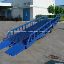 contenedor móvil camión rampa de carga de rampa / rampa de carga hidráulica