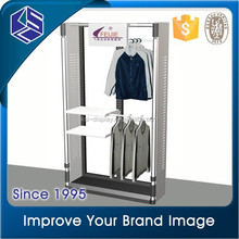 2015 new products metal hanging clothes display racks clothes display stand