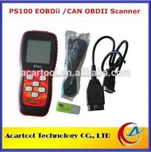 100% 2015 original nuevo eobdii/puede escáner obdii ps100 xtool ps100 xtool 100 ps de diagnóstico del escáner con alta calidad