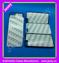 JESOY Sublimation Blanks Case For iPhone 5 5C 5S 2D Heat Transfer Printing Case