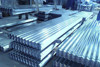 Prime color coated corrugated panels from supplier