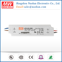 Meanwell 35w 1050mA switching power supply/ 35w 1050mA waterproof single output led driver/IP67 level
