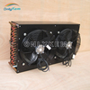 Portable fin type condenser plate heat exchanger for cold room
