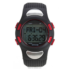 Pedometer Heart Rate Monitor Calories Counter Digital Watch Fitness For Men Women Outdoor Wristwatches