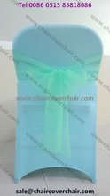 spandex folding chair cover for wedding