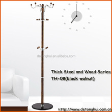 Luxury modern black walnut coat rack TH-08# black walnut