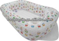 Soft Inflatable Kids Bathtub/Eco-friendly portable kids bath tubs