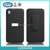 wholesale alibaba hybrid holder flip cover case for htc desire 816g