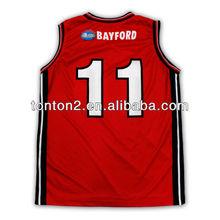 2013 hot selling custom sublimation basketball jersey