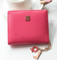 2014 new Korea short wallet,thin small purse wallet for girl