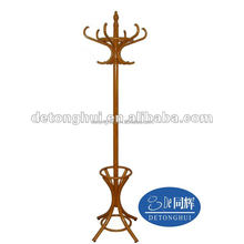 solid wooden walmart standing hat rack 185