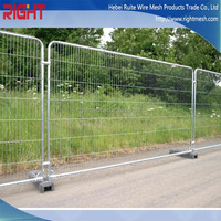 Decorative Temporary Fence, Metal Fence Post Clamps, Wire Mesh Fence with High Quality