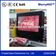 "Supermarket Interactive Advertising Kiosk 15"" 17"" 19"" Inch Touch Screen Tablet PC Barcode Scanner"