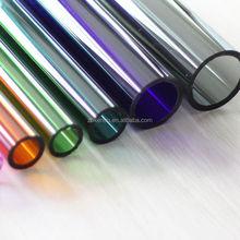 Colorful Borosilicate 3.3 Glass Tube