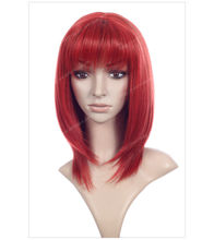 decorations Carnival costume cosplay party city wigs red