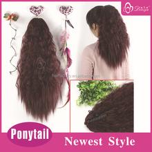 Deniya claw clip kinky curly ponytail