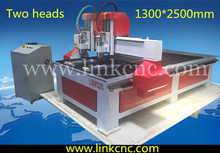 High configuration heavy duty water cooling cnc router machine for wood acrylic stone/wood door making cnc router cutting