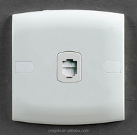 SASO certificated igoto E106 british style 1 gang electrical plug socket