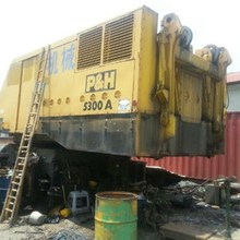 Located in Shanghai, used but good 300T Manitowoc crawler crane sale