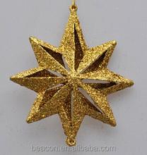 2014 cheap hot sale embossing metal christmas ornaments/logo engraved metal Christmas ornament