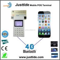 Justtide Smartphone Mobile Bluetooth IC Card Reader