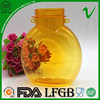 bpa free biodegradable disposable empty clear flat plastic water bottle with wide mouth for juice liquid packaging
