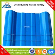 Low cost semi-rigid decorative roof