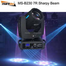 2015 big promotion dj equipment/new LEDs OSRAM sharpy 7r beam 230 moving head/led bulb r7 230W beam moving head light