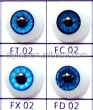 Doll accessories plastic brown safety eyes doll