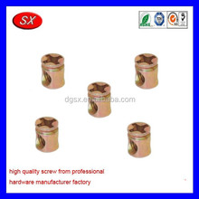 Customized screws and fittings for furniture/screws steel nut and bolt triad fittings screw