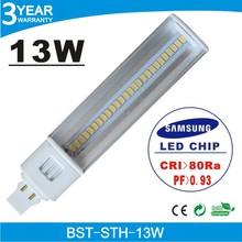 2014 High Quality 13W PL LED Lamp, G24 LED PL Light, PL LED Bulb