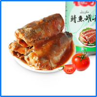 canned mackerel fish with best production line