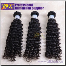 High quality malaysian curly hair product guangzhou hair remy virgin weft extension