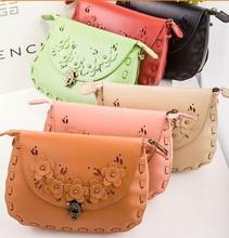 Korean lovely women messenger bag latest colourful fashion ladies bag