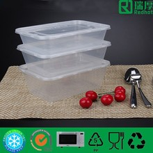 Bio-degradable,disposable Feature plastic food container 750ml