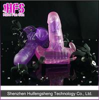 New Design Butterfly Sex Toy Vibrator Dildo For Female