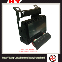 Auto electron Hot-Selling high quality low price dvd car audio navigation system for Freelander2 2007-2012