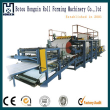 Simple small manufacturing machines eps sandwich wall panel production line/machine